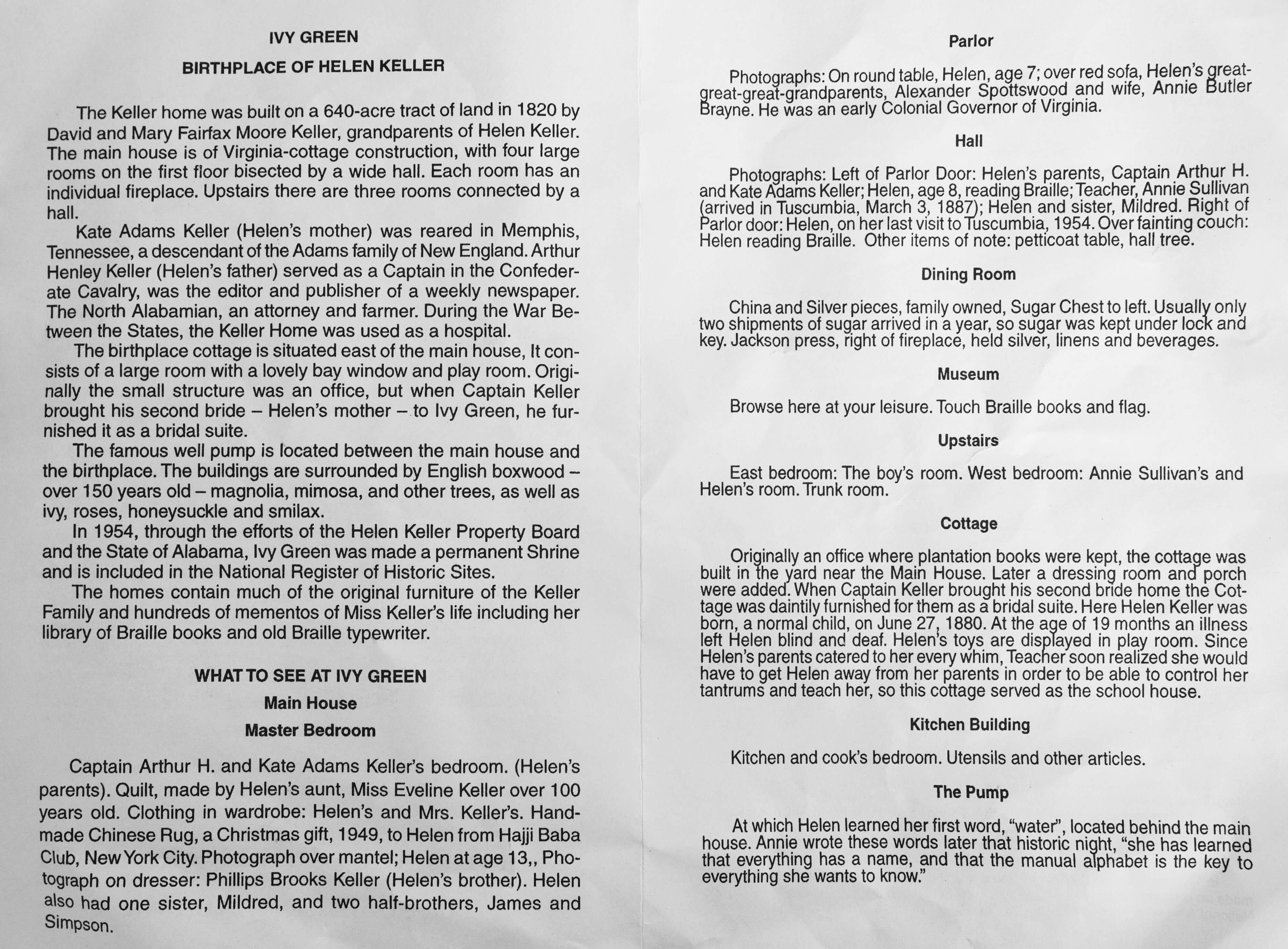 Helen Keller Leaflet-2