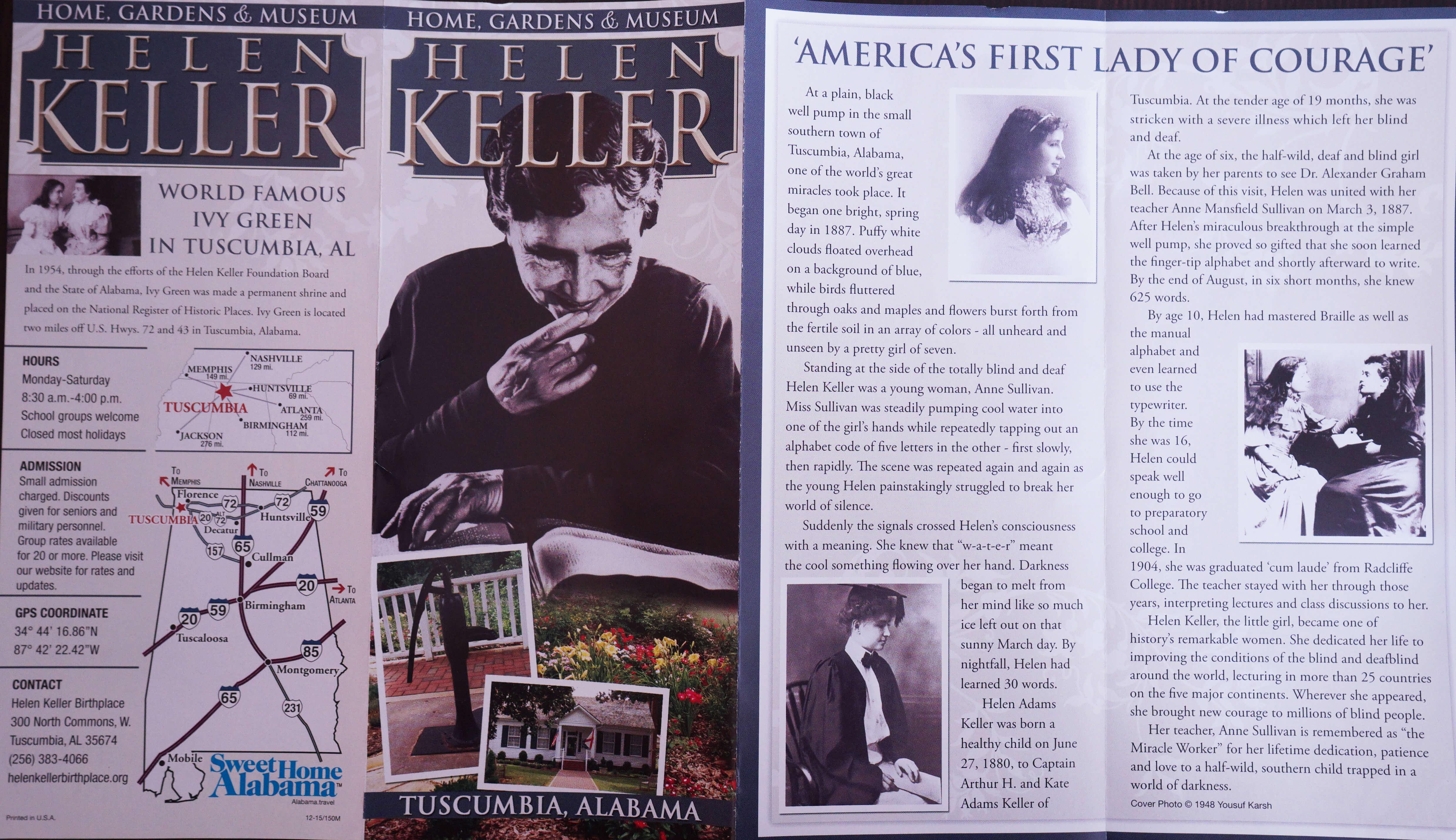 Helen Keller Leaflet-3