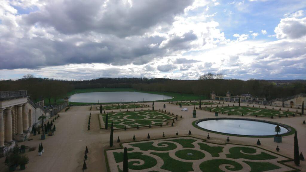 Place of Versailles Garden