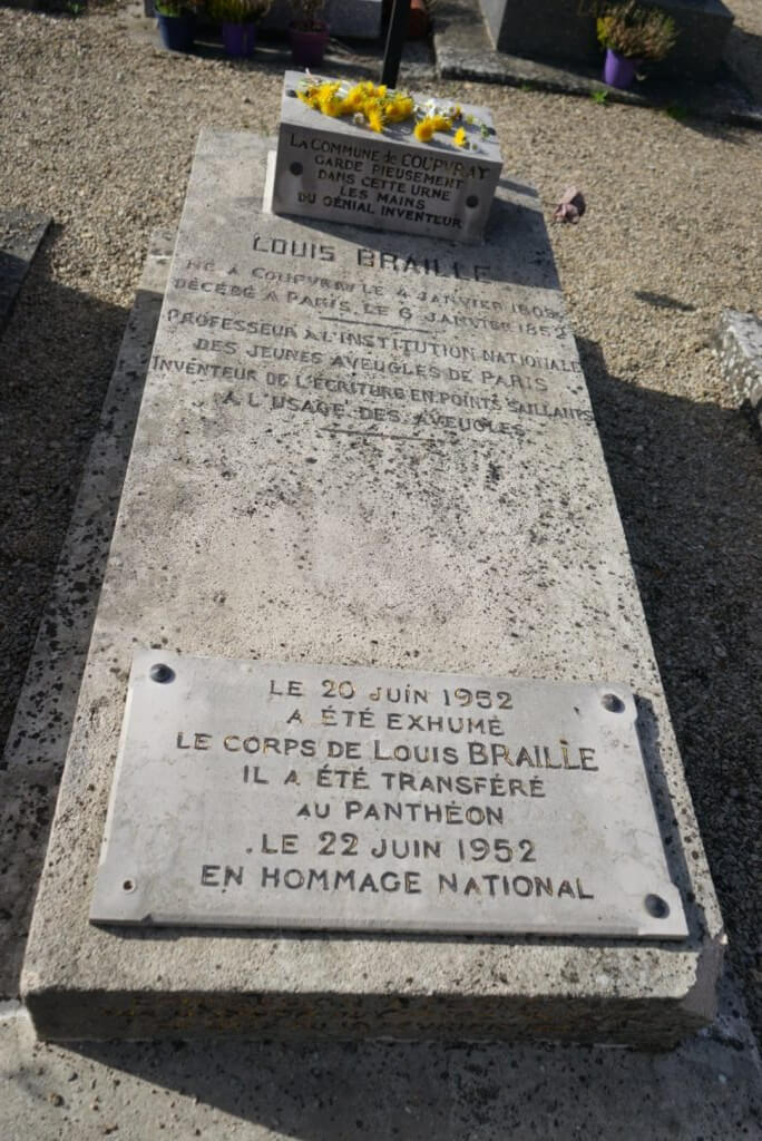 Tomb of Louis Braille