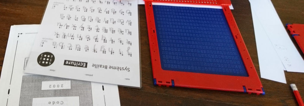 Type Braille