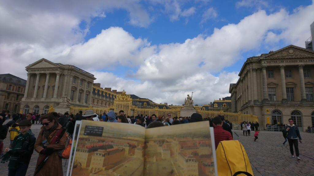 Versailles and book