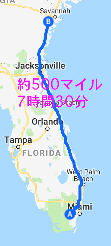 Miami to Richmond